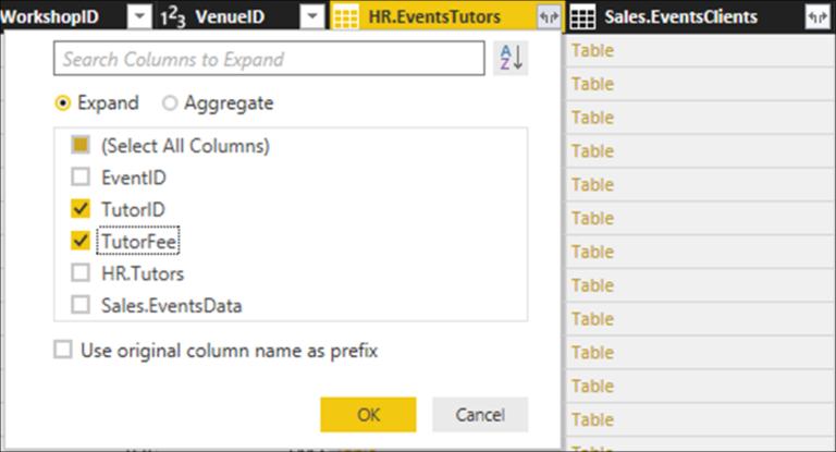 Using Relationship Columns to Kickstart your Data Modelling