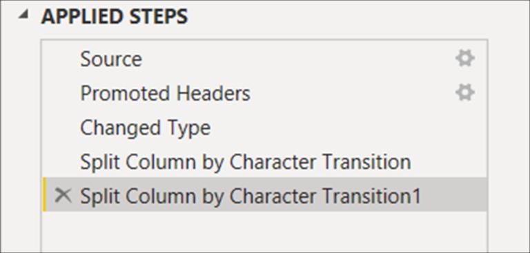 Power BI MCSA Certification Training Tips – Part 10: Split Columns by Digit to Non-digit