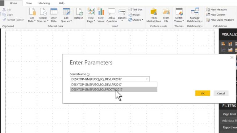 Parameterizing SQL Server Connections