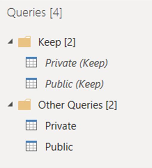 Replicating Qlik Sense Keep Operations in Power Query