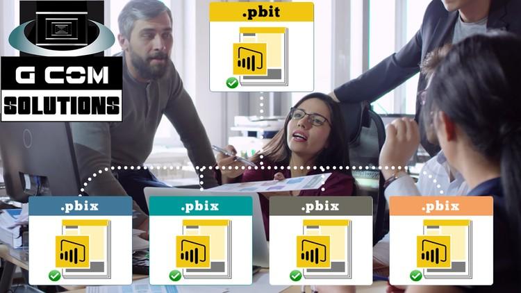 Power BI Parameters, Templates & Row-Level Security